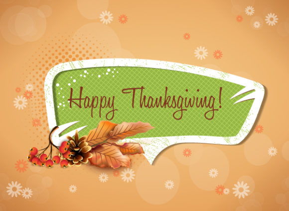 Insane Day Vector Design: Happy Thanksgiving Day Vector Design 5