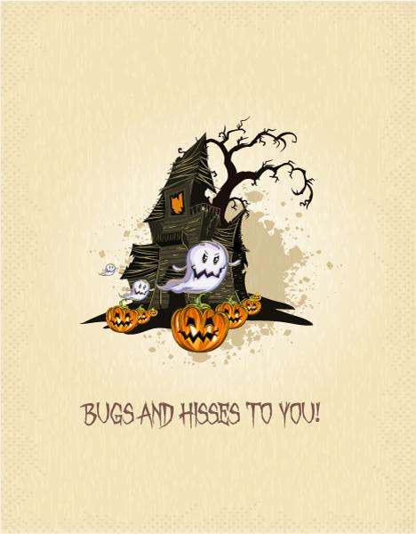 Scary, Illustration Vector Background Halloween Background  Pumpkin Vector Illustration 2015 02 02 198