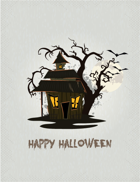 halloween background vector illustration 5