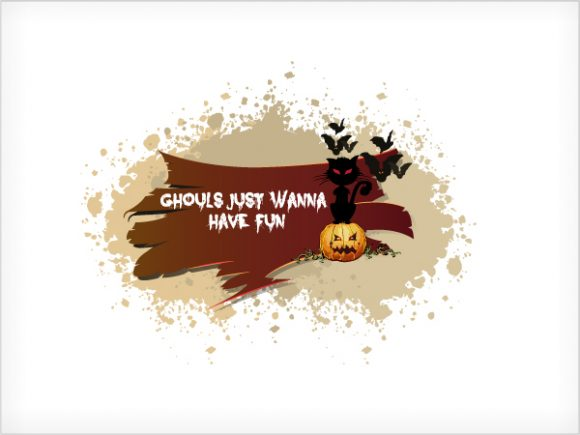 Amazing Illustration Eps Vector: Halloween Background With Pumpkin Eps Vector Illustration 2015 02 02 238
