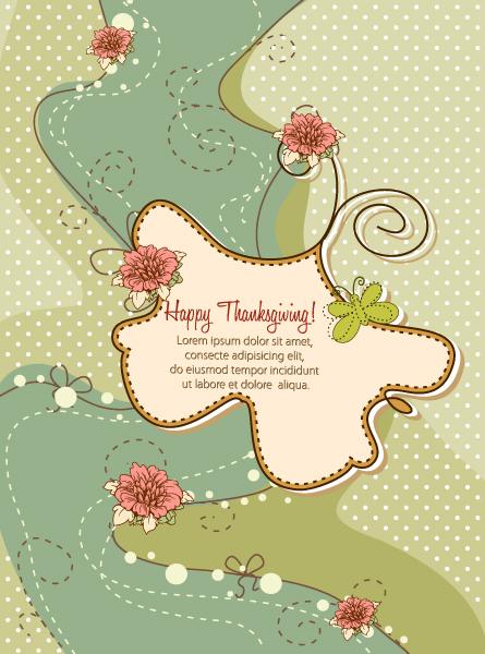 Thanksgiving Vector Happy Thanksgiving Day Vector 5