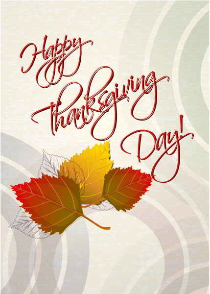 Happy, Day, Text Vector Art Happy Thanksgiving Day Vector 5