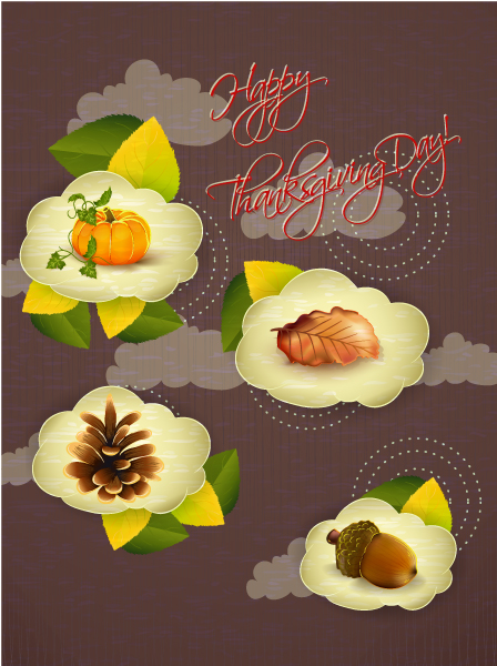 Thanksgiving Vector Image: Happy Thanksgiving Day Vector Image 2015 02 02 249