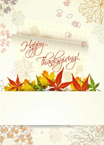 Abstract-2 Vector Design Happy Thanksgiving Day Vector 5
