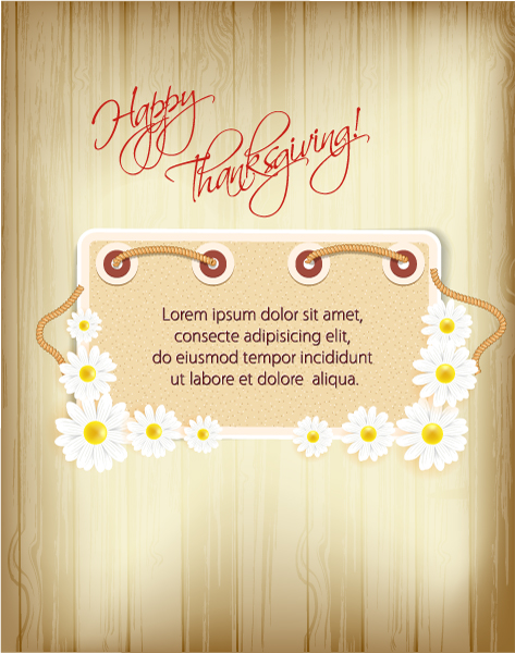 happy thanksgiving day vector 2015 02 02 251