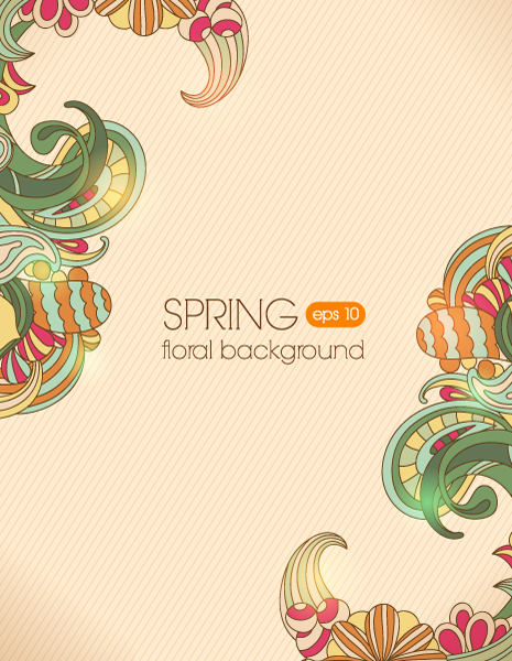Surprising Floral Eps Vector: Floral Eps Vector Background Illustration 2015 02 02 306