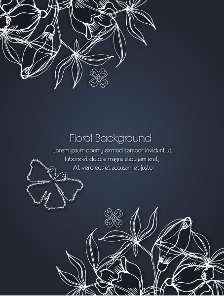 Spring Eps Vector: Floral Eps Vector Background Illustration 2015 02 02 313