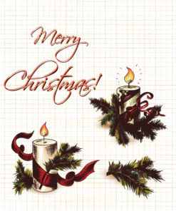Christmas vector elements Vector Illustrations old