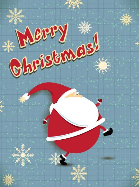 Old, Christmas Vector Design Christmas Vector Illustration  Santa 5