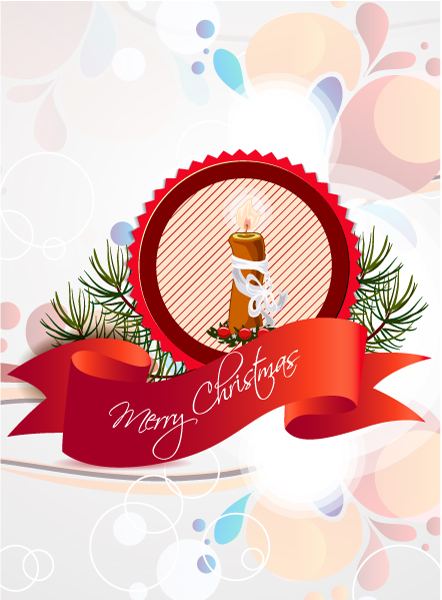 Christmas Vector Art Christmas Vector Illustration  Label 5