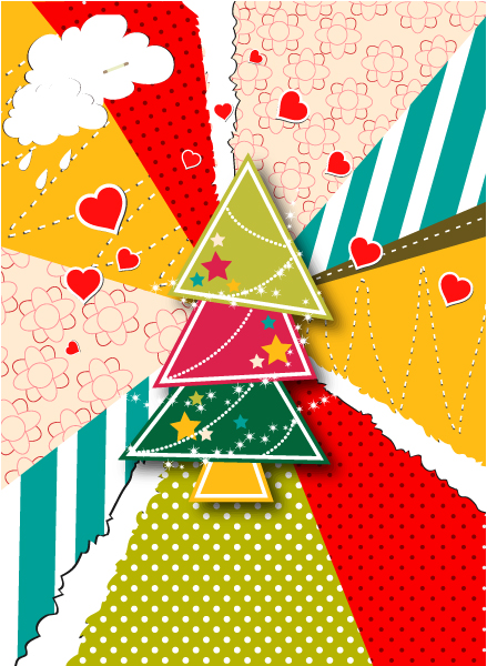 Christmas illustration vector 2015 02 02 401