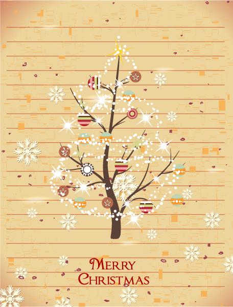 Christmas illustration vector 2015 02 02 403