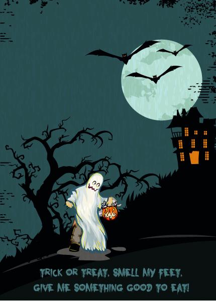 Halloween Vector Design Halloween Background Vector Illustration 5