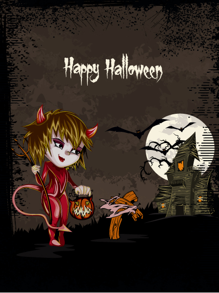 halloween background vector illustration 2015 02 02 425