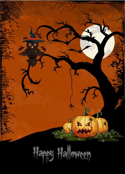 halloween background vector illustration 2015 02 02 433
