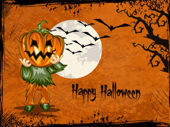 halloween background vector illustration 2015 02 02 441