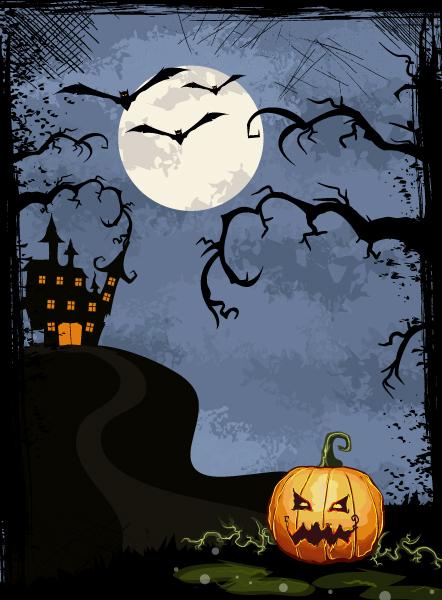 halloween background vector illustration 2015 02 02 446