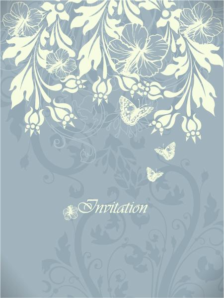 Special Leaf Vector Artwork: Floral Vector Artwork Background With Floral Elements 1