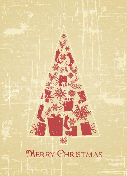 Bold Christmas Vector: Christmas Illustration Vector 2015 02 02 532