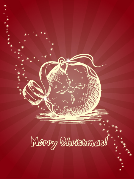 Christmas illustration vector 2015 02 02 536