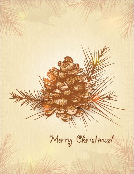 Christmas illustration vector Vector Illustrations tree