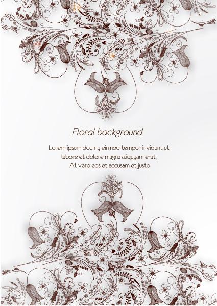 floral vector background illustration 2015 02 02 575