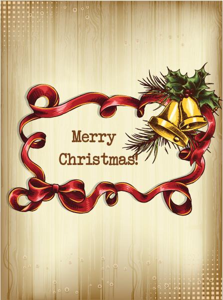 Illustration Vector Design: Christmas Vector Design Illustration With Frame And Bells 2015 02 02 628
