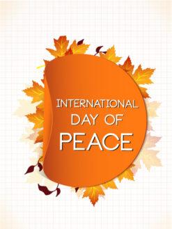 International Day of Peace vector Vector Illustrations vector