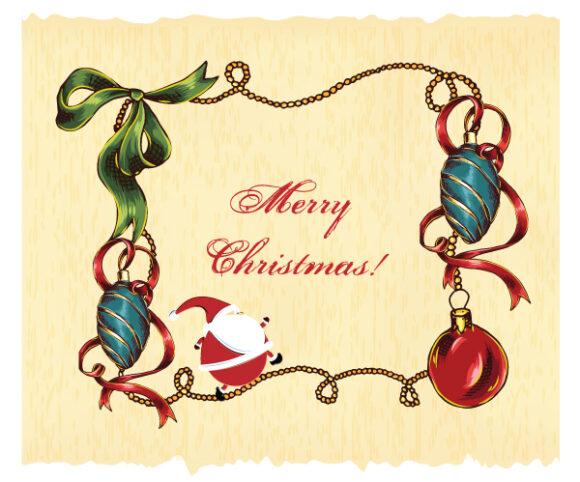 Christmas, Illustration Vector Christmas Vector Illustration  Christmas Frame 2015 02 02 900