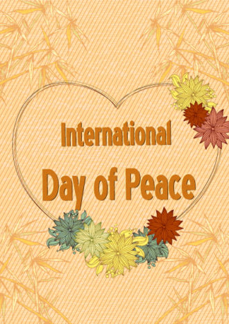 International Day of Peace vector Vector Illustrations vector