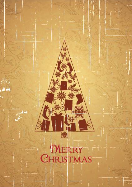 Tree, Christmas Vector Art Christmas Vector Illustration  Christmas Tree 2015 02 02 945