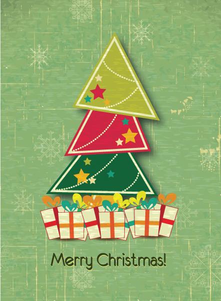 Illustration, Star Vector Artwork Christmas Vector Illustration  Tree 5