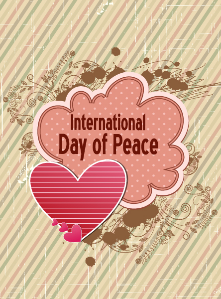 Flowers Vector Graphic International Day Of Peace Vector 1