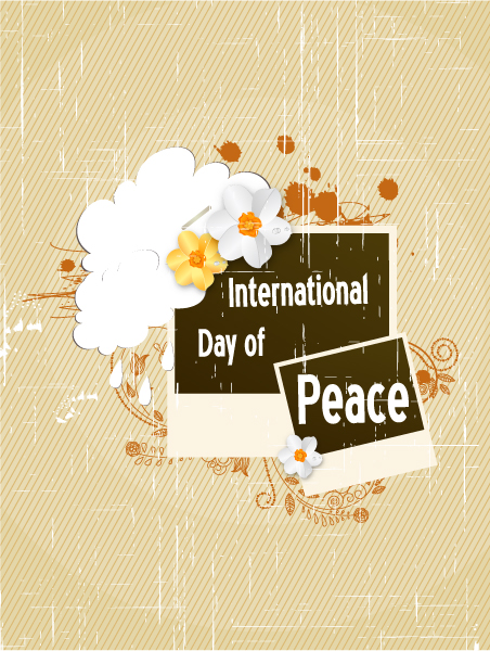 Lovely Of Vector: International Day Of Peace Vector 1