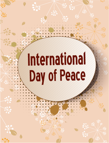 Of, Retro Eps Vector International Day Of Peace Vector 1