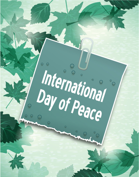 Smashing Of Vector Graphic: International Day Of Peace Vector Graphic 1