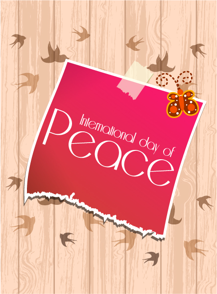 Day Vector Background International Day Of Peace Vector 1