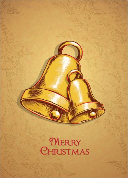 Bells Vector Image Christmas Vector Illustration  Bells 2015 02 02 983