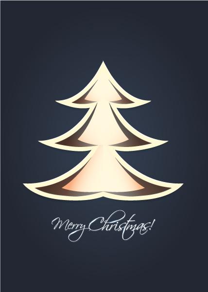 Christmas, Tree Vector Christmas Vector Illustration  Christmas Tree 1