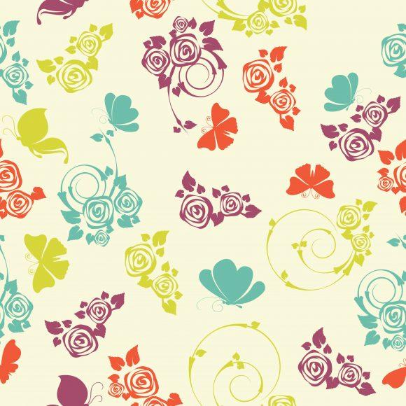 vector seamless pattern with butterflies 2015 03 03 039