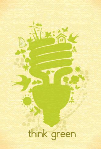 eco friendly design vector illustration Vector Illustrations leaf