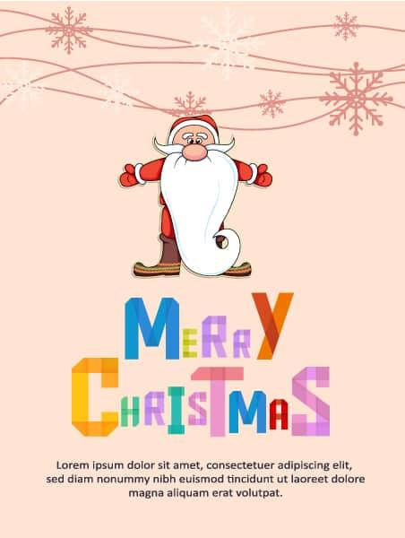 Christmas Vector illustration santa 2015 03 03 149