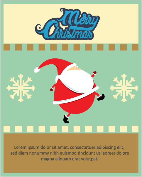 Christmas Vector illustration santa 2015 03 03 170