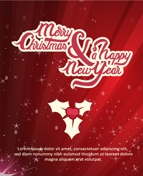 New, Christmas Vector Illustration Happy New Year  Vector Illustration 5
