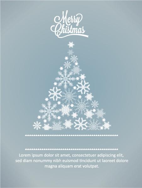 Lovely Vector Vector Art: Christmas Vector Art Illustration With Christmas Tree 5
