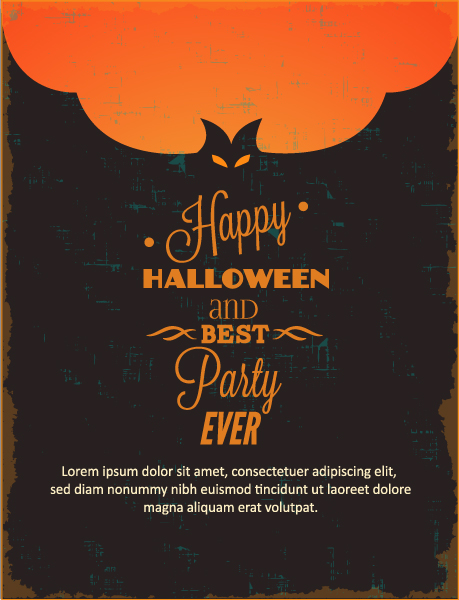 Halloween, Illustration Vector Art Halloween Vector Illustration  Bat 2015 03 03 564
