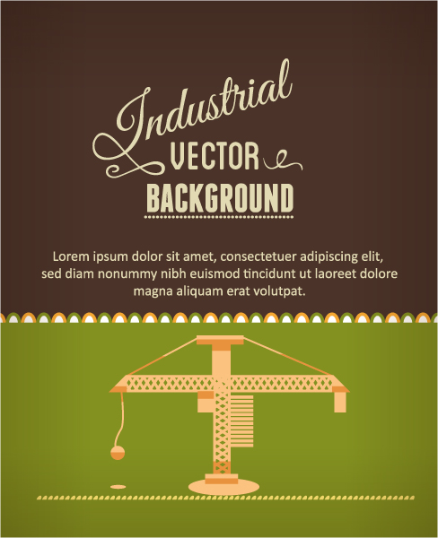 Vector illustration with construction tool Vector Illustrations construction