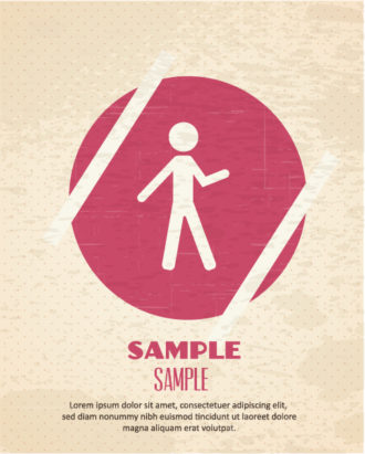 Vector illustration with people icon Vector Illustrations vector