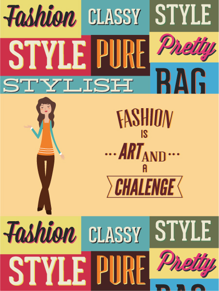 Vector illustration with fashion elements 2015 03 03 700
