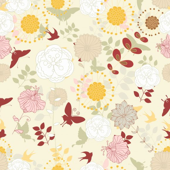 vector seamless pattern with floral Vector Illustrations pattern,seamless,repeat,multiply,vector,floral,leaf,plant,flower,fake,decoration,ornate,abstract,symbol,design,illustration,background,art,artwork,creative,decor,elegant,image,